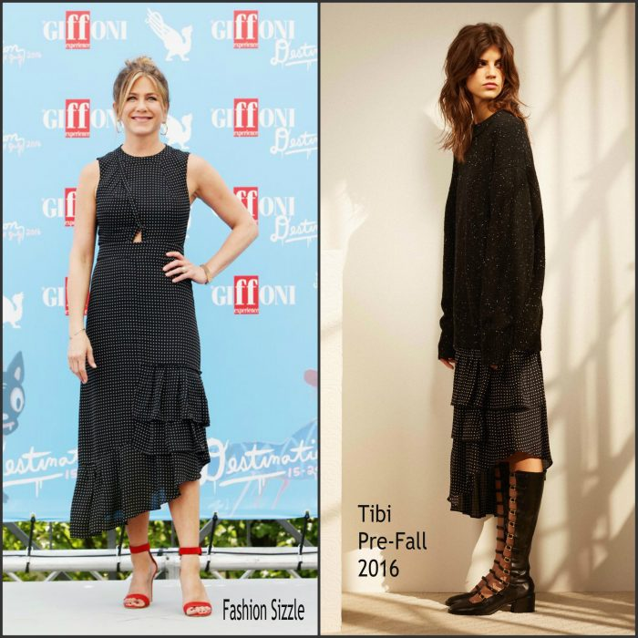 Jennifer Aniston   was in attendance  t the 2016 Giffoni Film Festival in Giffoni, Italy   Saturday July 23, 2016