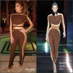 Jennifer Lopez in Balmain  Out in Las Vegas