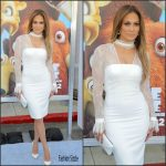 Jennifer Lopez in  Vatanika at  Ice Age: Collision Course LA Premiere