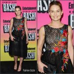 Jennifer Morrison in Reem Acra at the Entertainment Weekly 2016 San Diego Comic Con Party
