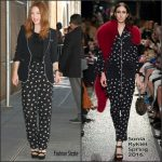 Julianne Moore in Sonia Rykiel  at The View