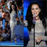 Katy Perry In   Michael Kors  Collection  at  Democratic National Convention