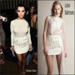 Kourtney Kardashian In Luciana Balderrama  at GQ party