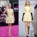 Kristen Bell  In Georges Chakra  at Bad Moms LA Premiere