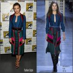 Lauren Cohan In Altuzarra at The Walking Dead press line at Comic Con
