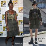 Lupita Nyongo  in Givenchy  at Comic Con  2016 in San Diego