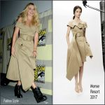 Margot Robbie  in Monse  at  Suicide Squad  panel at Comic Con