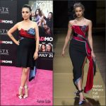 Mila Kunis In Atelier Versace at Bad Moms LA Premiere