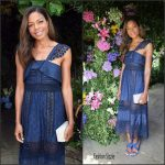 Naomie Harris in  Self-Portrait At  the Royal Salute Coronation Cup Polo in Windsor