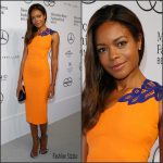Naomie Harris  In Victoria Beckham at  Berlin Fashion Week