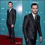 Nicholas Hoult  in   Dolce and Gabbana  at   Equals  LA Premiere