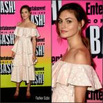 Phoebe Tonkin in Huishan Zhang at the Entertainment Weekly 2016 San Diego Comic Con Party