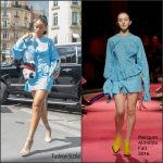 Rihanna  in Marques Almeida  Out In Paris