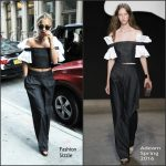 Rita Ora  in  Adeam  Out In New York