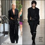 Rita Ora In DKNY  Out In New York