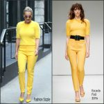 Rita Ora in Escada Leaving her TriBeCa Apartment