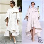 Sonam Kapoor in Ralph & Russo Couture at the Ralph & Russo F/W 2016 Haute Couture Paris Fashion Show