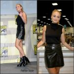Sophie Turner  In Louis Vuitton at  Game of Thrones Comic Con Panel