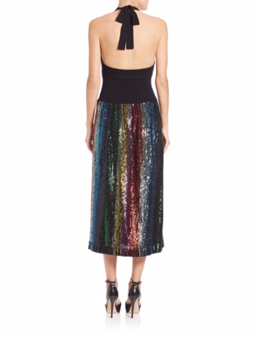 sonia-rykiel-rainbow-sequin-knit-dress