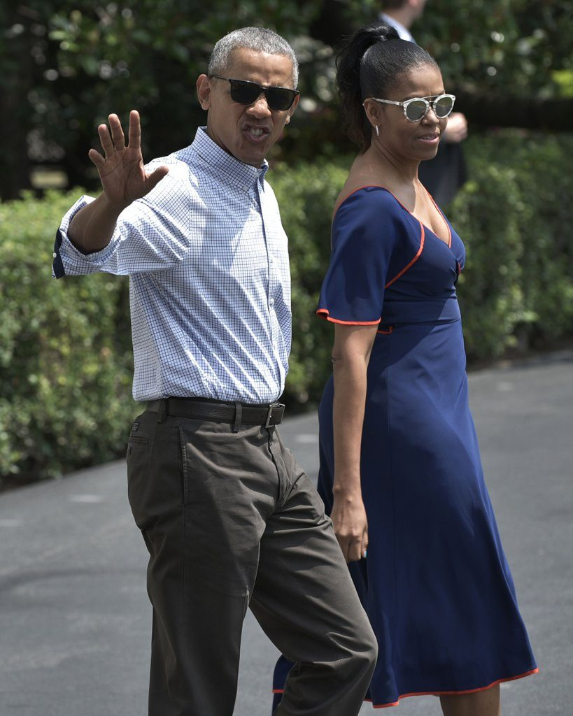 Michelle-Obama-Dress-Vacation-Martha-Vineyard-2016-4