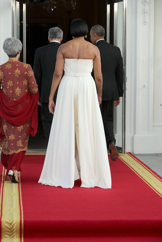 Michelle-Obama-White-Gown-State-Dinner-August-2016
