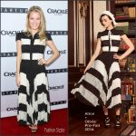 Ashley Hinshaw in Alice + Olivia at the 'StartUp' TV Series LA Premiere