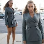 Beyonce in Pallas at the 'Hands of Stone' New York Premiere