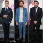 Bradley Cooper, Jonah Hill & Miles Teller at War Dogs' LA Premiere