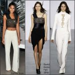 Chanel Iman in David Koma at the Opening Celebration of W Dubai