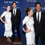 Emily Blunt & John Krasinski at 'The Hollars' New York  Screening