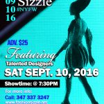 Fashion Sizzle NYFW Fashion Show showcasing Emerging Designers