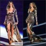 Gisele Bundchen in Alexandre Herchcovitch at the 2016 Rio Olympic Games Opening Ceremony