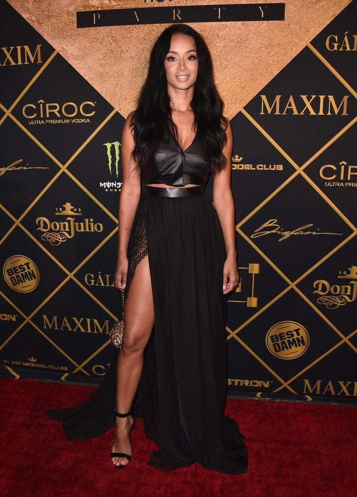 Draya -Michelle -maxim-hot-100-party