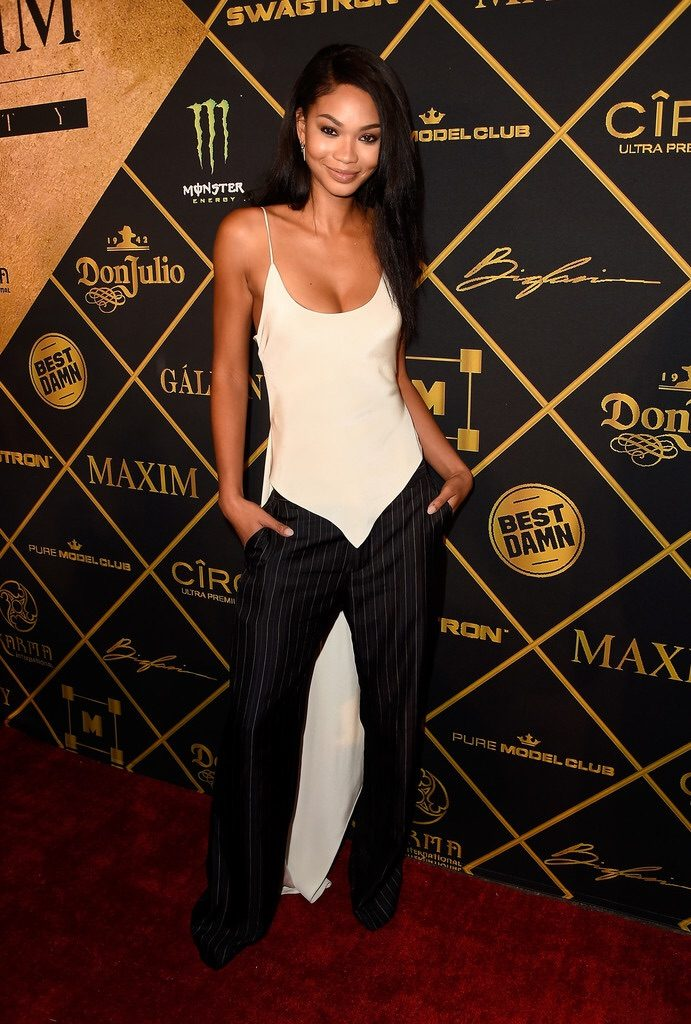 Chanel- Iman-maxim-hot-100-party