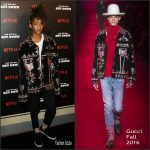 Jaden Smith in Gucci at 'The Get Down' New York Premiere