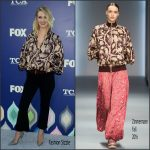 January Jones in Zimmermann at the 2016 Fox Summer TCA Tour Party