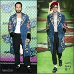 Jared Leto  In Gucci at The Suicide Squad  New York Premiere