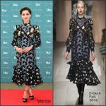 Jenna Coleman in Erdem at the 'Victoria' London World Premiere
