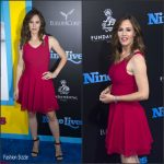 Jennifer Garner in Azzedine Alaia at the Nine Lives LA Premiere