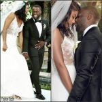 Kevin Hart marries Eniko Parrish who wears Vera Wang