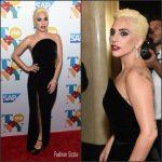 Lady Gaga  in Brandon Maxwell  At  Tony Bennett's 90th Birthday Party