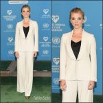 Natalie Dormer in Max Mara at the 2016 World Humanitarian Day: One Humanity Event