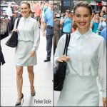 Natalie Portman  In Christian Dior on Good Morning America