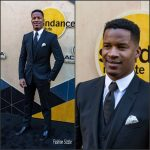Nate Parker  In  Dolce & Gabbana at the Sundance Institute Night Before  Next Benefit