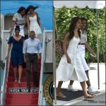 Obamas Heads to Martha's Vineyard for Summer Vacation