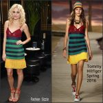 Pixie Lott in Tommy Hilfiger at Tramp