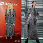Portia Doubleday in Antonio Grimaldi at the 'Mr. Robot' NBCUniversal 2016 Summer TCA Tour Panel