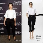 Rachel Weisz in Monse at the Complete Unknown New York  Premiere