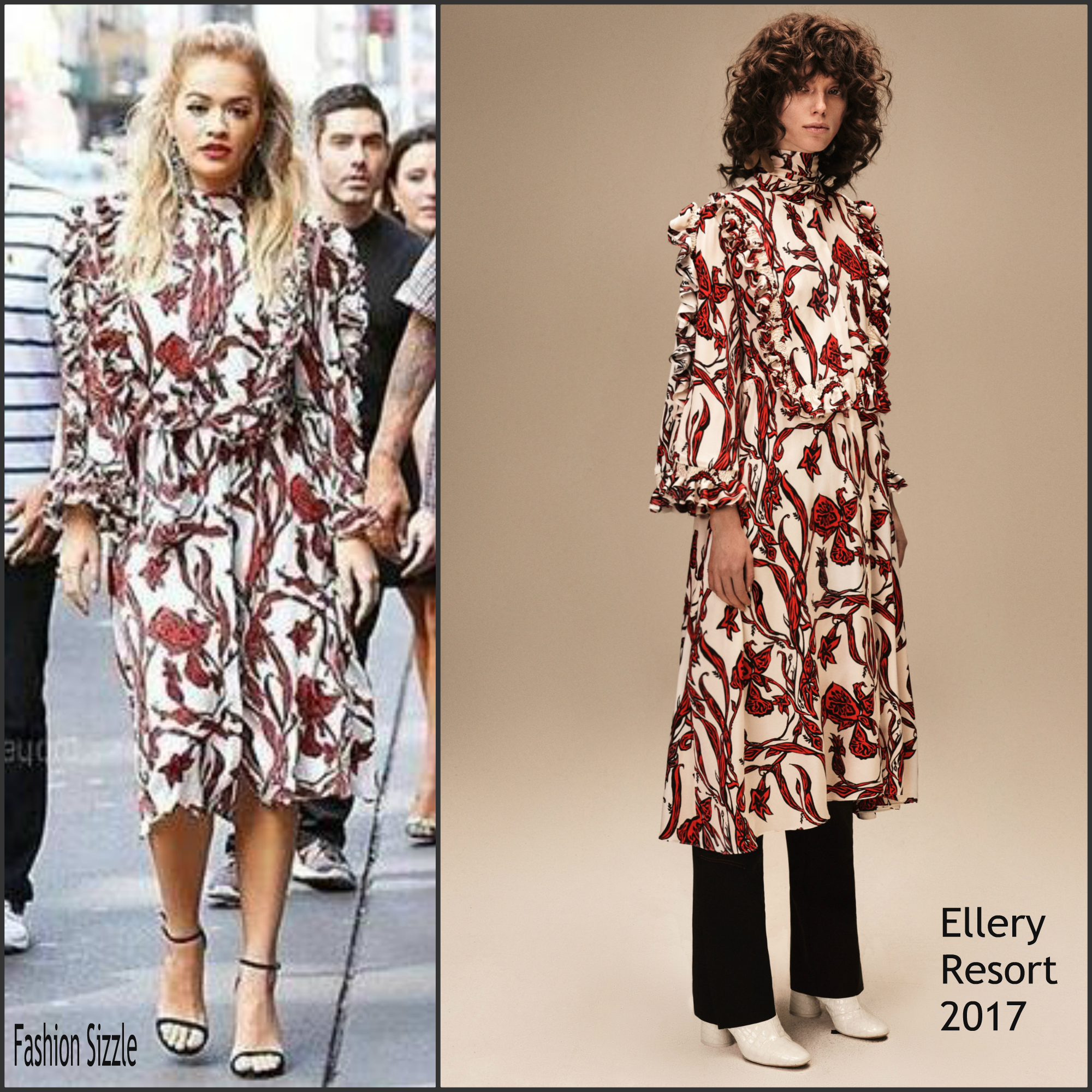 Rita ora in ellery leaving her tribeca apartment fashion for Apartment fashion