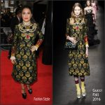 "Salma Hayek in Gucci at the ""Tale of Tales"" UK Premiere"